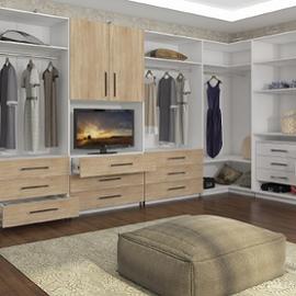 Правила распределения свободного пространства в гардеробной