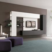 Стенка в гостиную - новый взгляд на привычный элемент интерьера