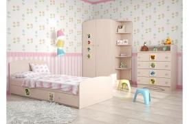 Детская комната Вальтер 3 в 1 светлая