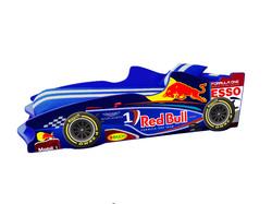 Детская кровать Формула F2 (синяя)