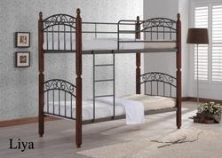 Кровать Liya dd двухъярусная