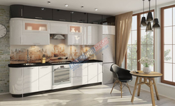 Кухня Комфорт с антерсолями