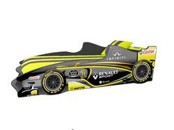 Детская кровать Формула F3 (желтая)