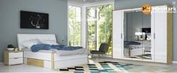 Спальня Флоренция белый глянец/сан марино