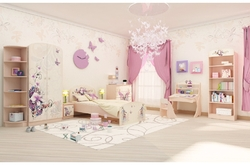 Детская комната Бабочки