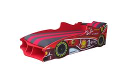 Детская кровать Формула F1 (красная)