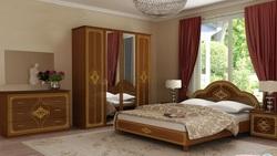 Спальня Футура нова (вишня бюзум)
