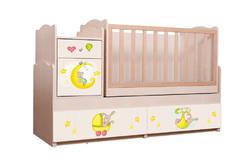Кровать-трансформер Зайки 5 в 1