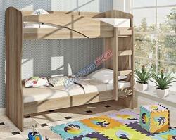 Кровать К-130 двухъярусная