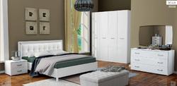 Спальня Белла (белый глянец) 3