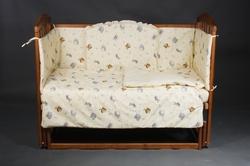 Детский постельный комплект Ласка без балдахина ( 7 элементов)