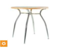 Основание для стола Cristal chrome MA