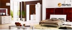Спальня Рома белый глянец