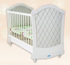 Детская кроватка Гламур