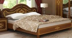 Кровать Футура нова Люкс (вишня бюзум)