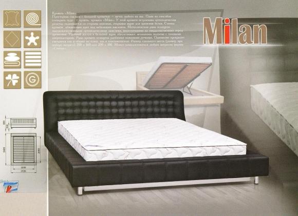Кровать Milan (Милан)