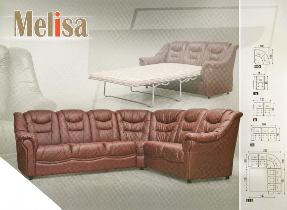 Угловой диван Melisa (Мелиса)