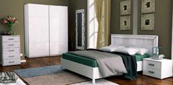 Спальня Белла (белый глянец) 4