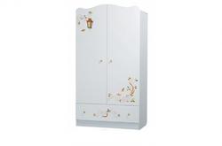 Шкаф Цветы жизни белый