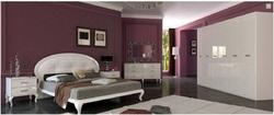 Спальня Империя (белый глянец) 2
