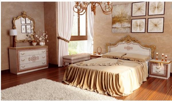 Спальня Дженифер Радика беж 2