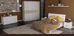 Спальня Верона белый глянец-сан марино 2