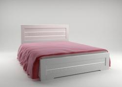 Кровать Соломия светлая