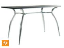 Основание для стола Cristal Duo chrome MA