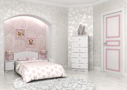 Детская комната Мишка МДФ белый 2