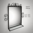 Шкаф-купе КС-3 волна+зеркало
