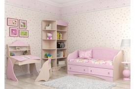 Детская комната Kiddy розовая 2