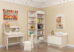 Детская комната Мишка МДФ ваниль 2