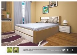 Кровать Титан 1 с подъемным механизмом