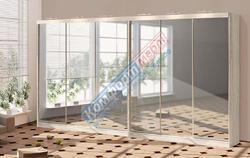 Шкаф-купе Софт 6Д зеркальный