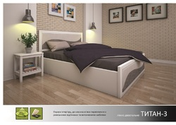 Кровать Титан 3 с подъемным механизмом