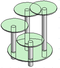 Подставка под вазоны-5