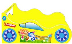 Детская кровать Фиксики (серия Форсаж)