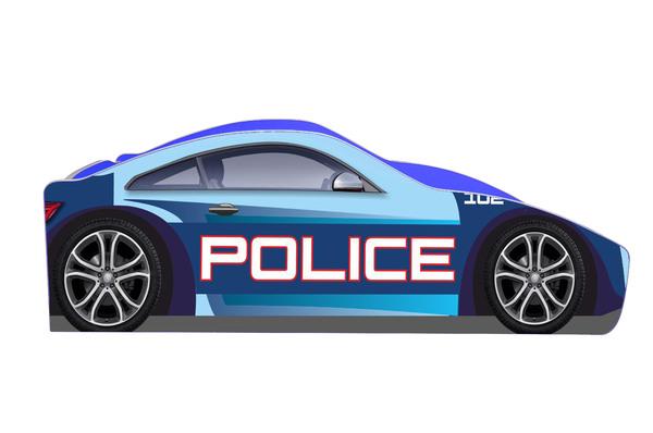 Детская кровать Полиция  Б-0005 (серия Бренд)