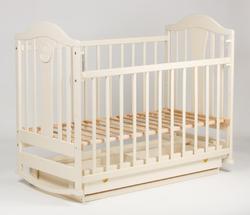 Детская кроватка Наполеон New маятник + ящик