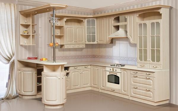 Кухня Валенсия светлая
