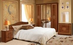 Спальня Флоренция каштан