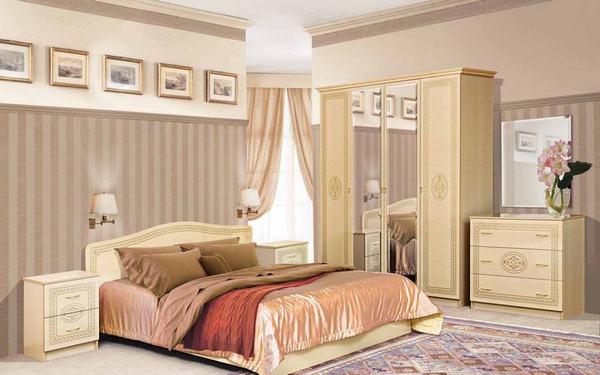 Спальня Флоренция светлая