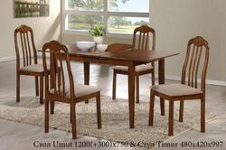 Столовый комплект Umut (1+4)