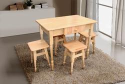 Кухонный комплект стол+4 табурета