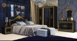 Спальня Дженифер Глянец черный