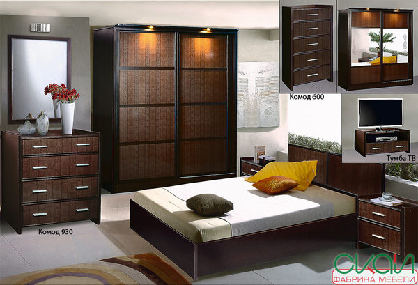 Набор спальной мебели С-2