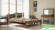Кровать Жозефина на деревянных ножках