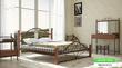 Кровать Джоконда на деревянных ножках
