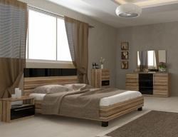 Кровать Соната (орех балтимор)