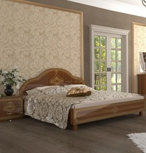 Кровать Футура (вишня бюзум)